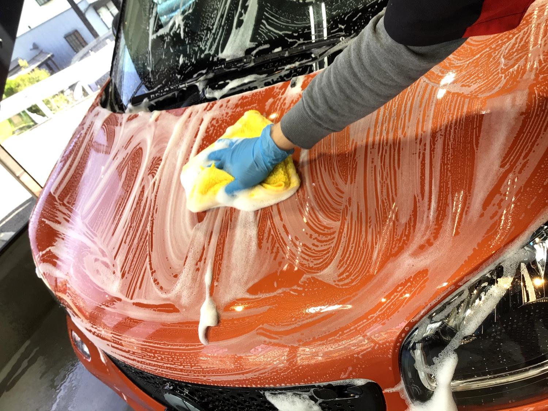洗車方法 4